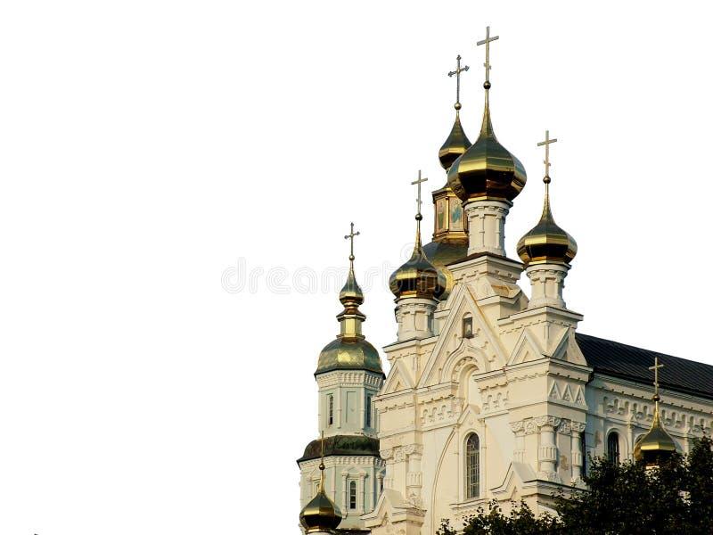 Orthodoxe Koepels royalty-vrije stock afbeeldingen