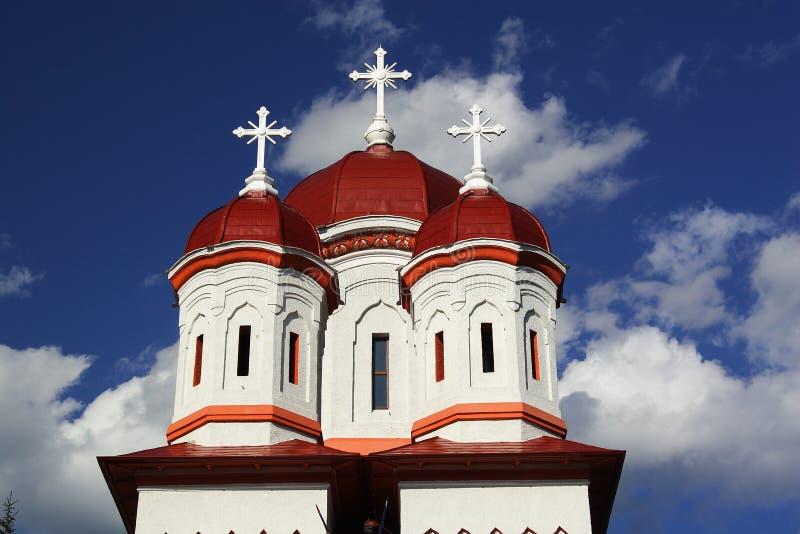 Orthodoxe rumänische Kirche stockfoto