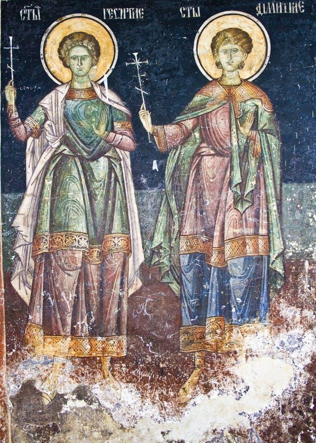 Orthodoxer frommer Anstrich lizenzfreie abbildung