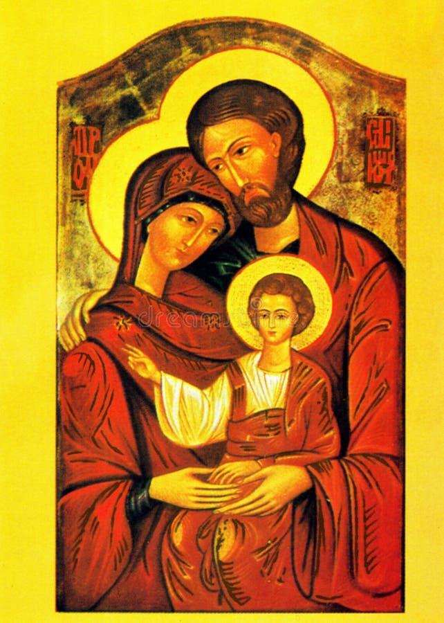 Orthodoxes christliches Geburt Christi stockfotografie
