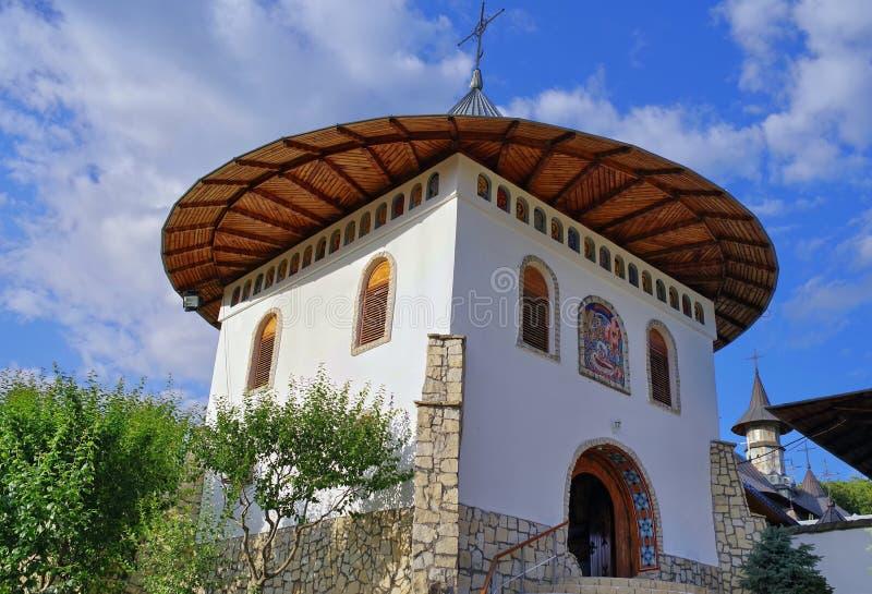 Orthodoxes Kloster stockbild