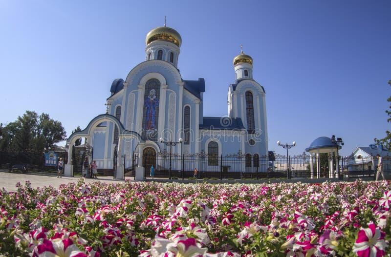 Orthodoxes ukrainiens célèbrent la trinité photos libres de droits