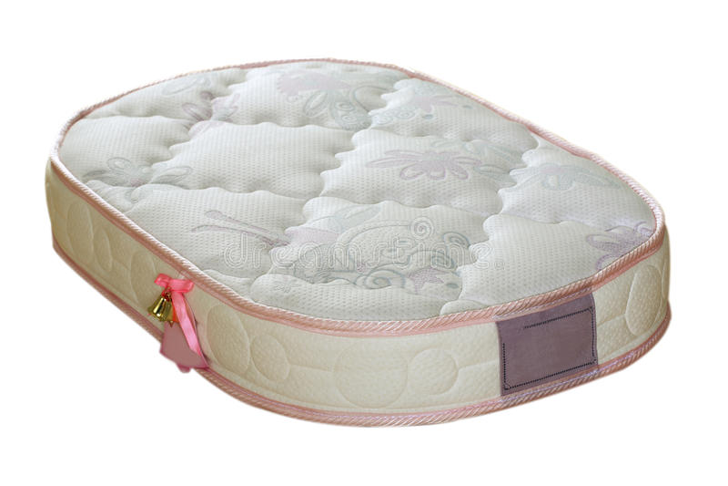 Orthopedic mattress stock photography