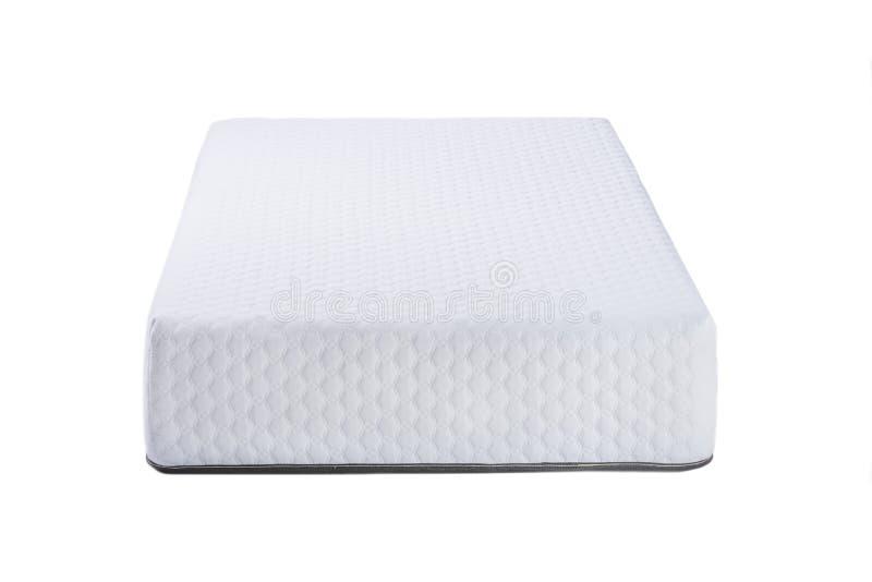 Orthopedic soft mattress for sleeping isolated on white background.  royalty free stock photos