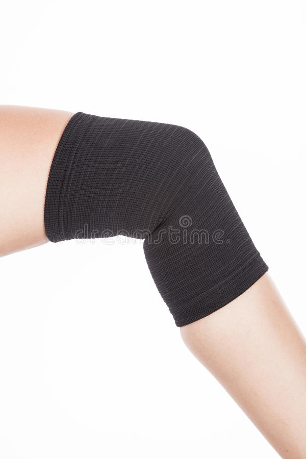 Orthopedic support for the knee royalty free stock images