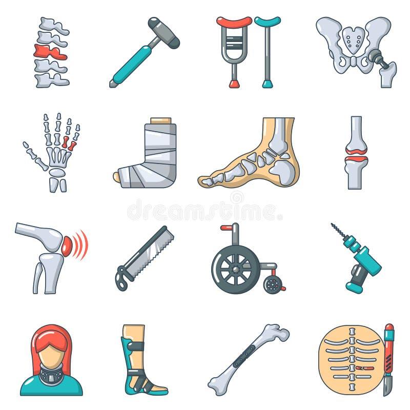 Free Orthopedist Bone Tools Icons Set, Cartoon Style Stock Photos - 106167883