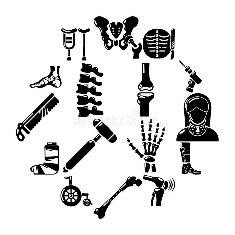 Free Orthopedist Bone Tools Icons Set, Simple Style Royalty Free Stock Images - 115410809