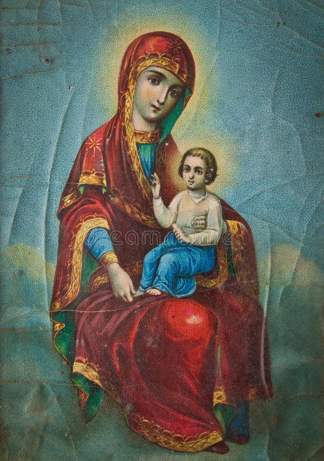 Ortodoksalna ikona royalty ilustracja
