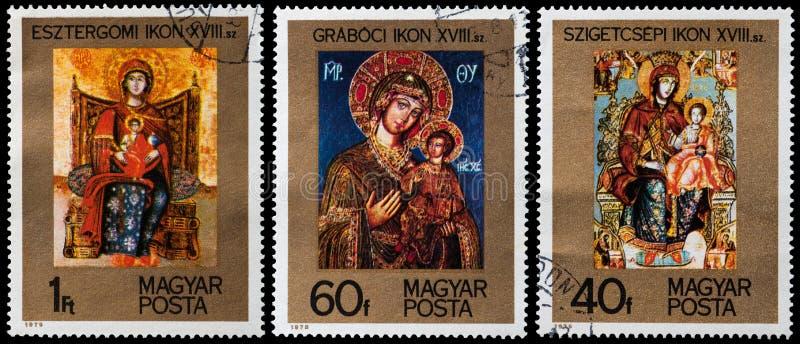 Ortodoksalne ikony obrazy stock