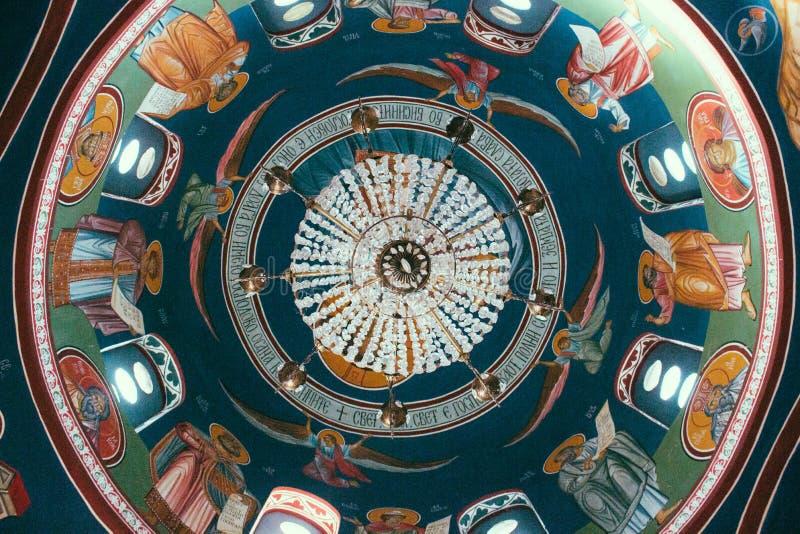 Ortodoksalnego kościół cupola fotografia royalty free