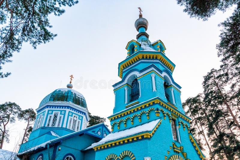Ortodoksalny kościół St. Uroczysty diuk, Jurmala fotografia royalty free