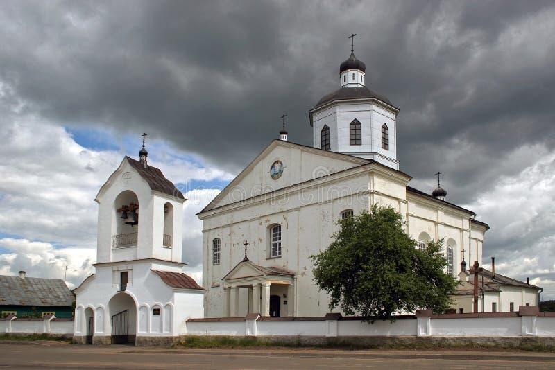 Ortodoksalny kościół transfiguracja władyka fotografia royalty free
