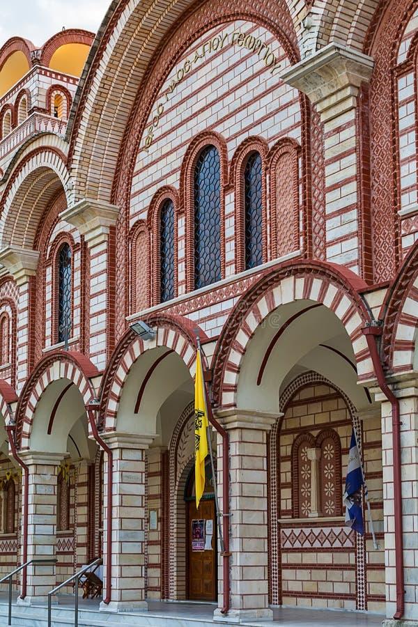 Ortodoksalny kościół w Asprovalta, Grecja zdjęcie stock