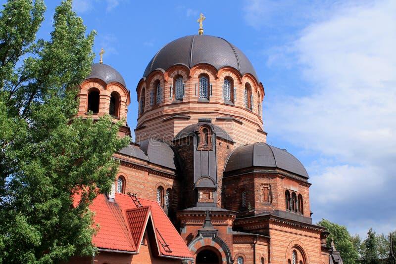 ORTODOKSALNY kościół W NARVA, ESTONIA zdjęcie stock