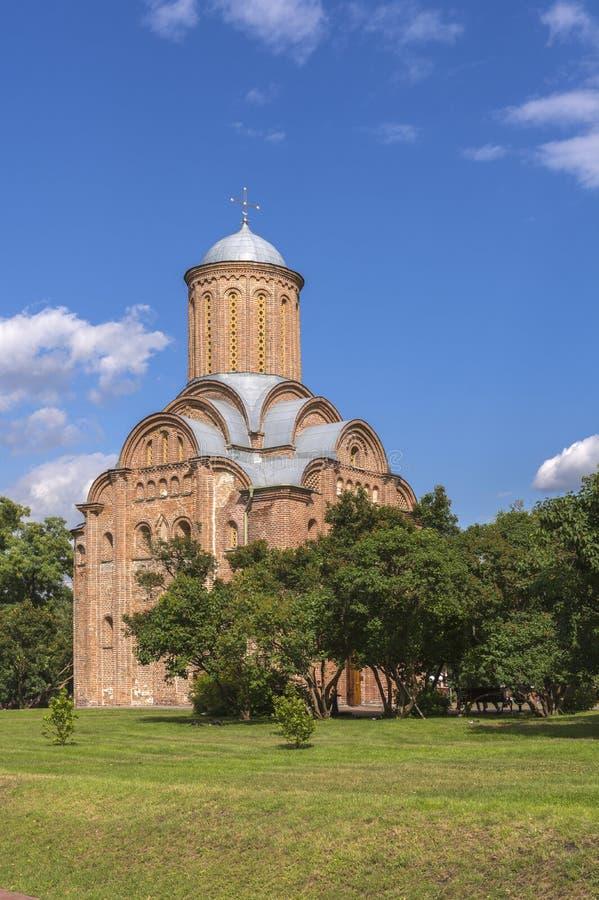Ortodoksalny Pyatnitskaya kościół w Chernihiv, Ukraina Od 12th wieka fotografia royalty free