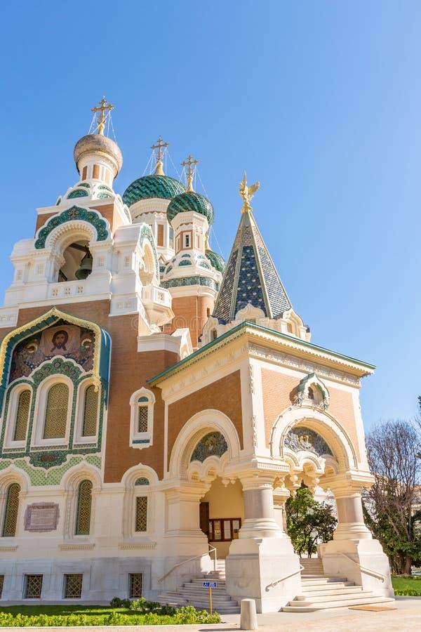 Ortodoksja kościelny Ładny Francja zdjęcia stock