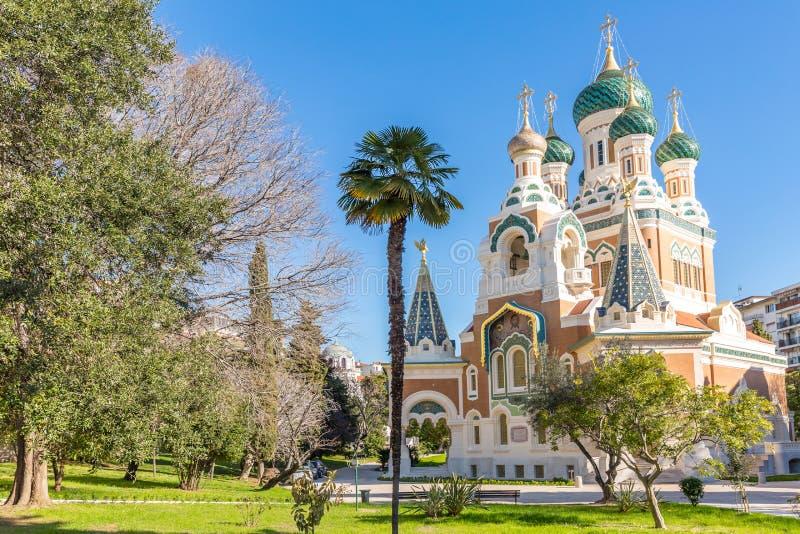 Ortodoksja kościelny Ładny Francja obrazy stock