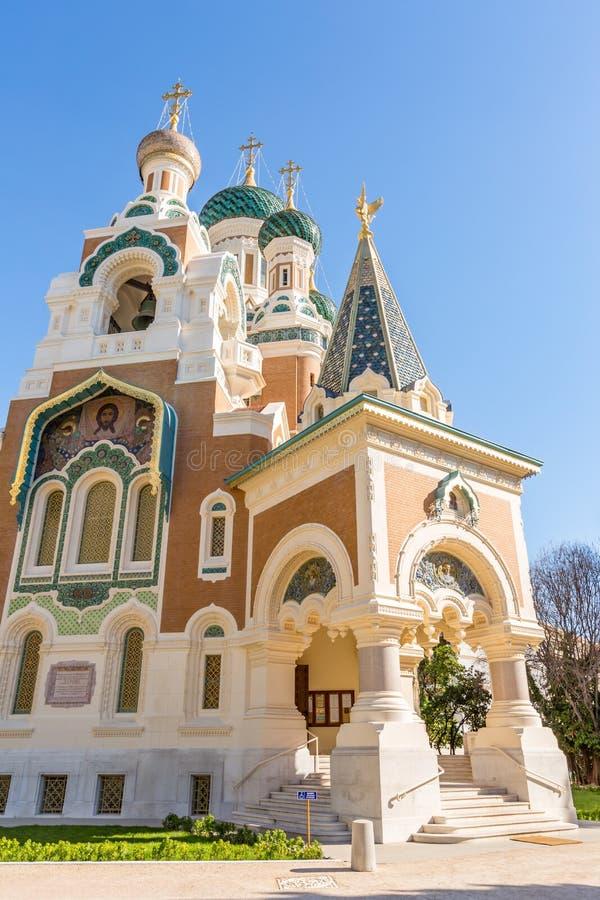 Ortodoksja kościelny Ładny Francja obraz stock