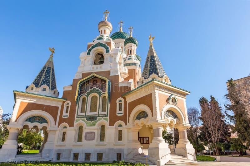 Ortodoksja kościelny Ładny Francja zdjęcie royalty free