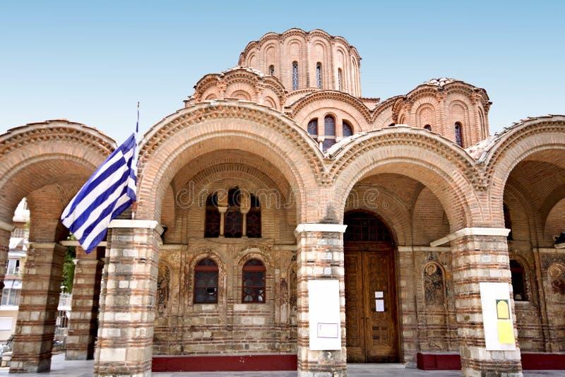 ortodoksyjny byzantine kościół fotografia stock
