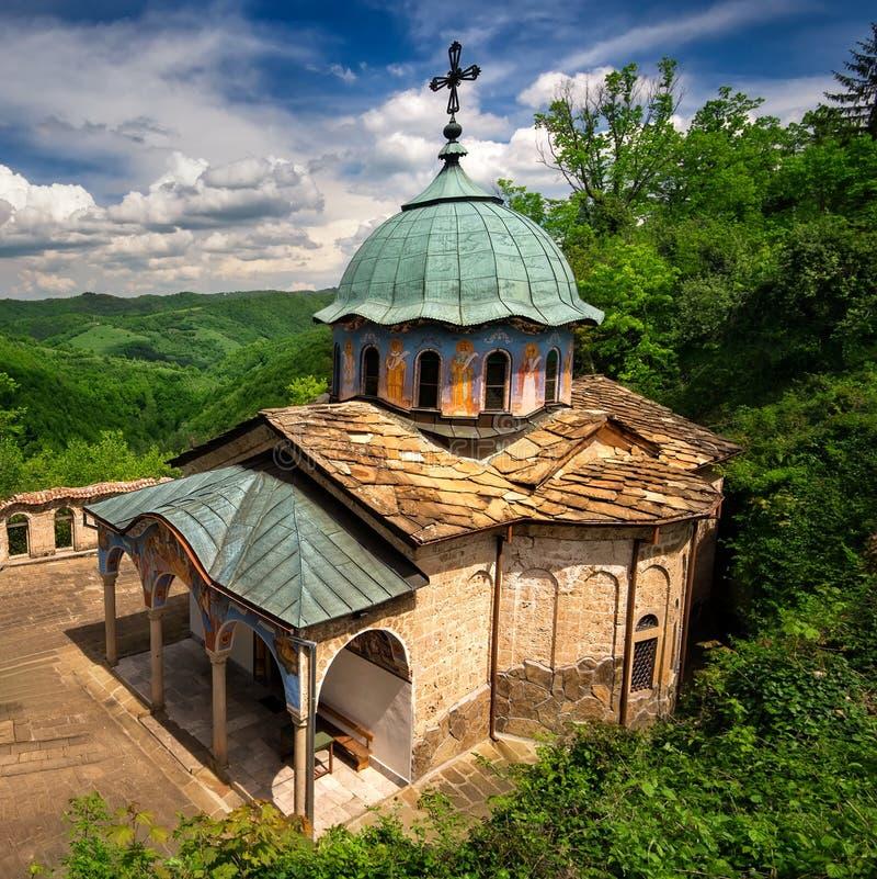 ortodoksyjny monaster zdjęcie stock