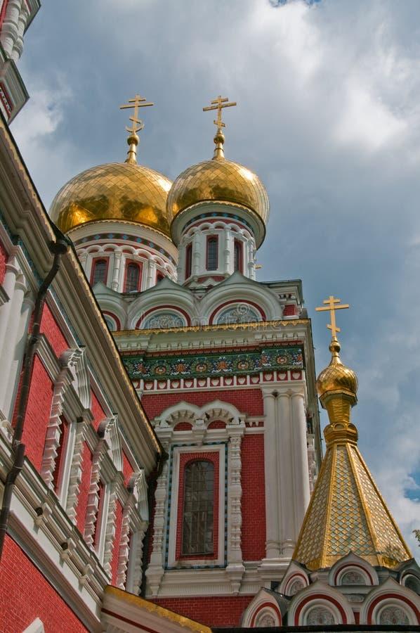 ortodoksyjny monaster kościelny monaster zdjęcie stock