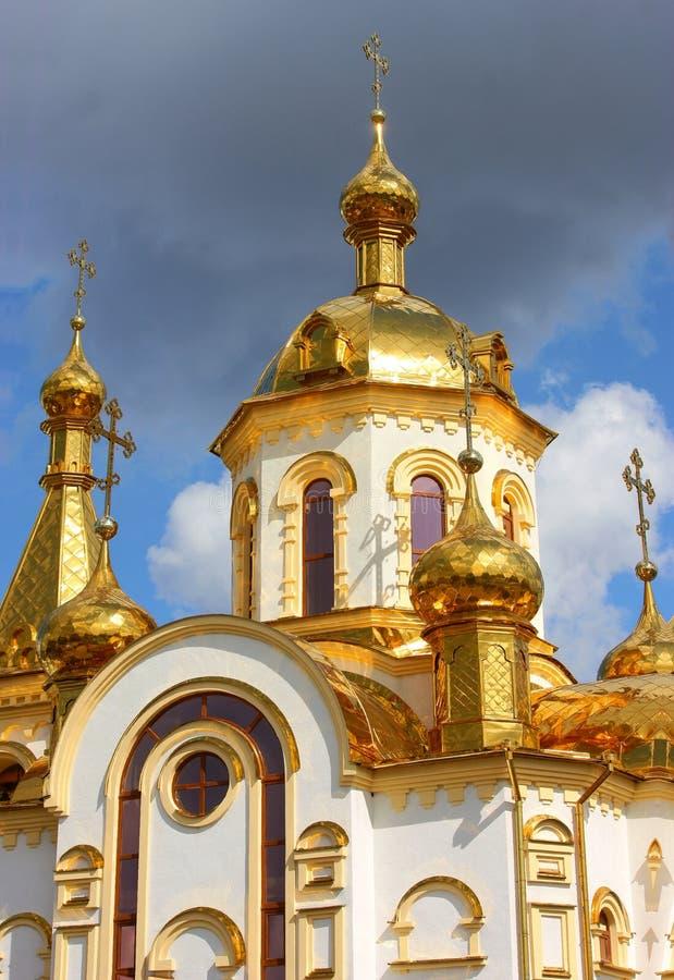 ortodoksyjny Nicholas kościelny st zdjęcia royalty free