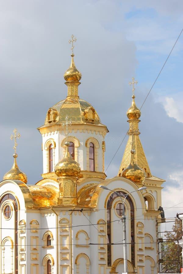 ortodoksyjny Nicholas kościelny st fotografia stock