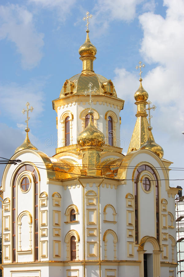 ortodoksyjny Nicholas kościelny st obrazy royalty free