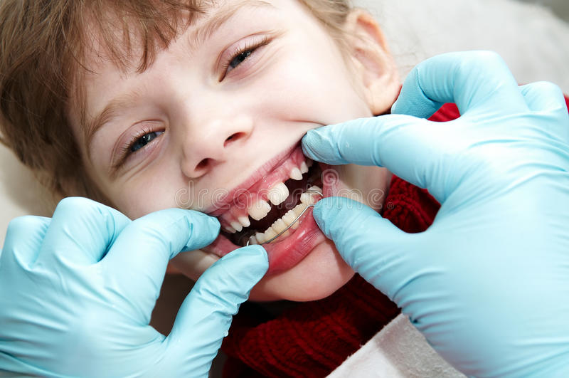 ortodontyczny doktorski dentysty student medycyny zdjęcia stock