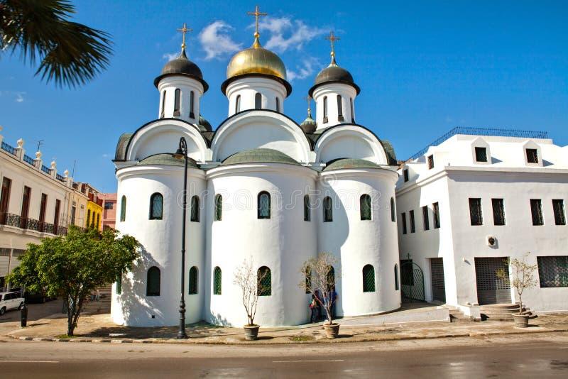 Ortodox domkyrka i havannacigarren, Kuba royaltyfri fotografi