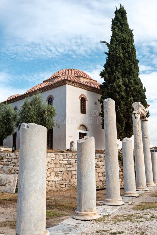 Ortodox grka świątynia obrazy stock