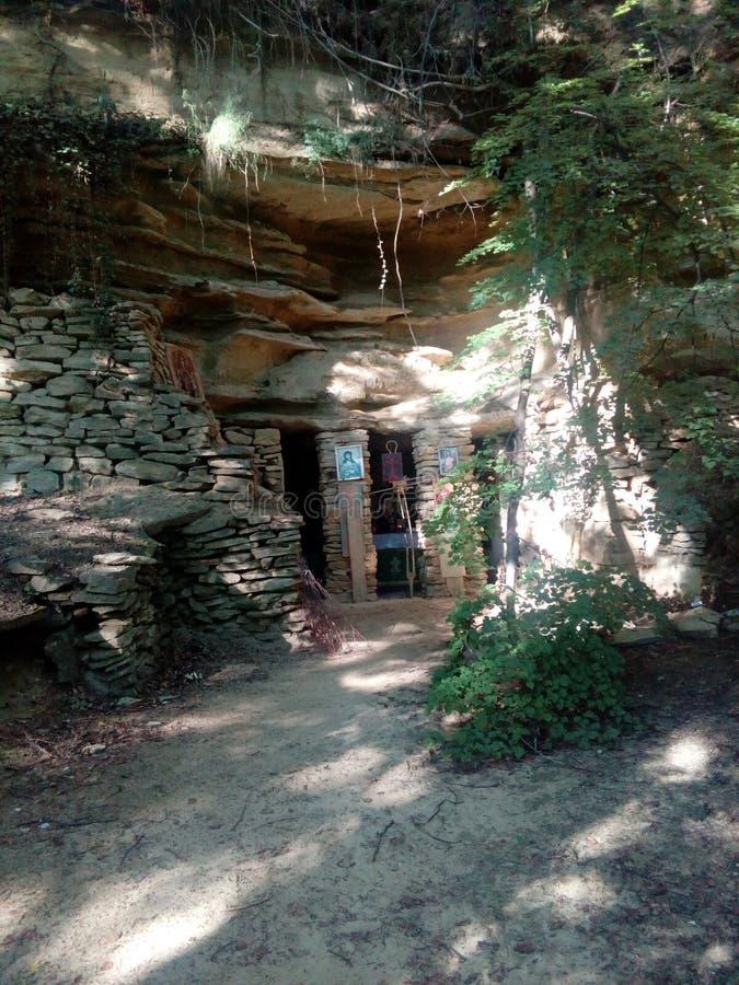 Ortodox grotta fotografering för bildbyråer
