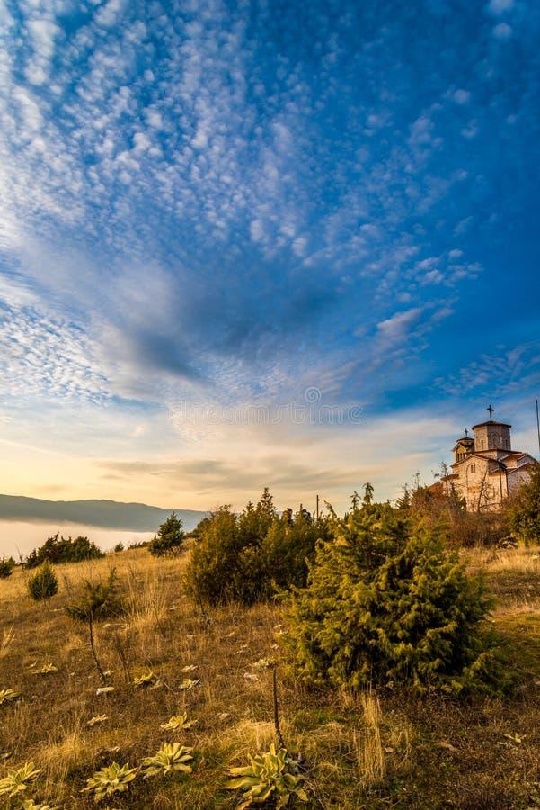 Ortodox kościół w Prespa, Macedonia zdjęcia royalty free