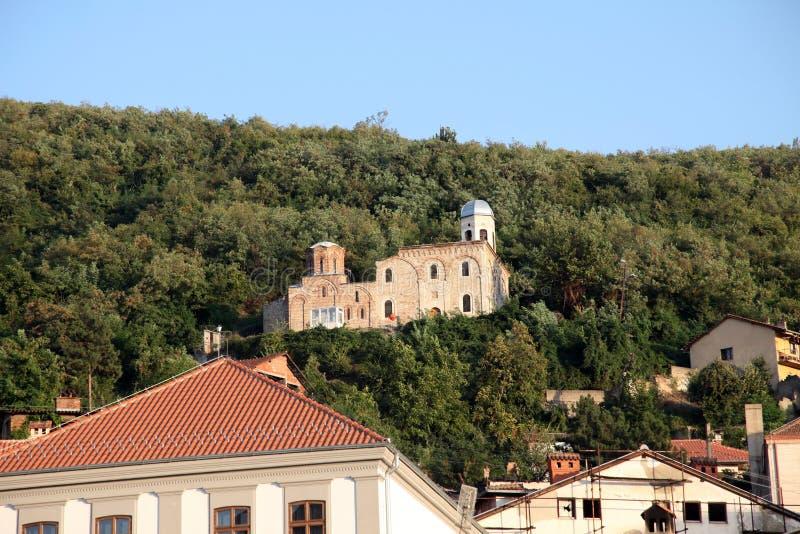 Ortodox kościół w Prizren, Kosowo fotografia royalty free