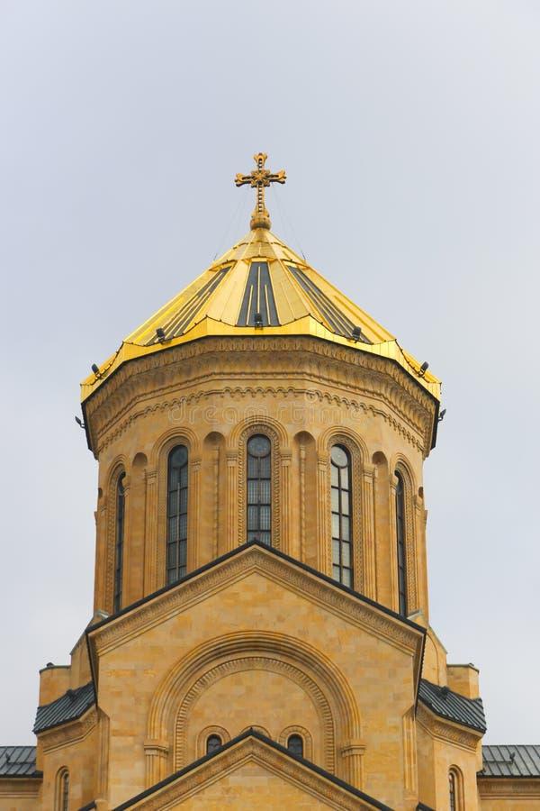 Ortodox kristen domkyrka, Georgia royaltyfri fotografi
