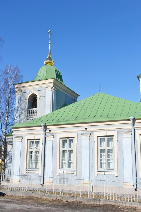 Ortodox kyrka i Lappeenranta fotografering för bildbyråer