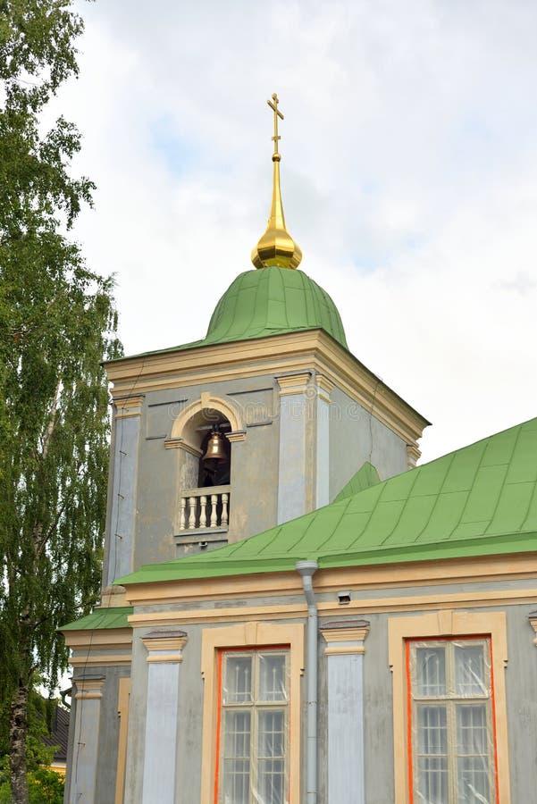 Ortodox kyrka i Lappeenranta arkivbild