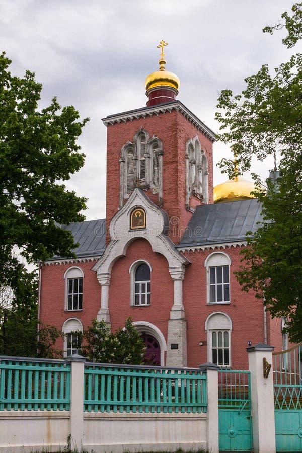 Ortodox kyrka i Lettland arkivbild