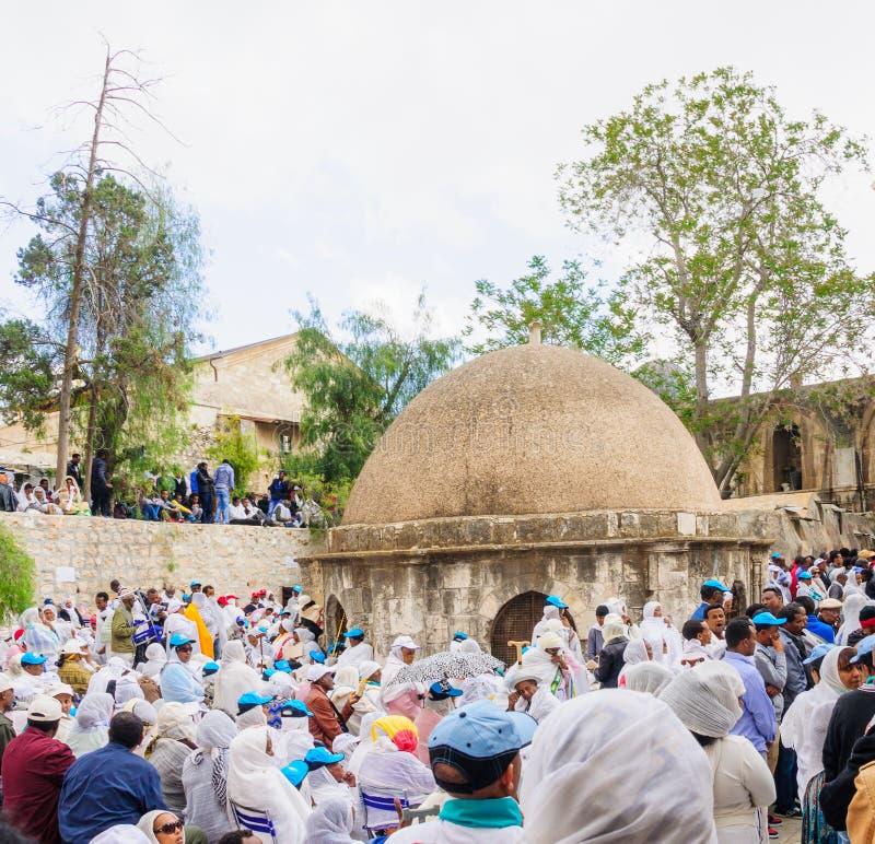 Ortodox långfredag i Jerusalem fotografering för bildbyråer