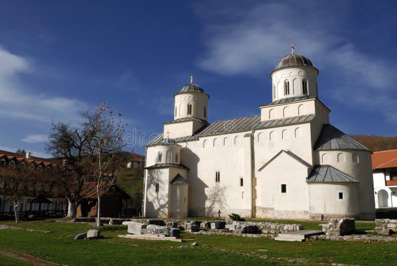 ortodox serb för milesevakloster royaltyfri foto