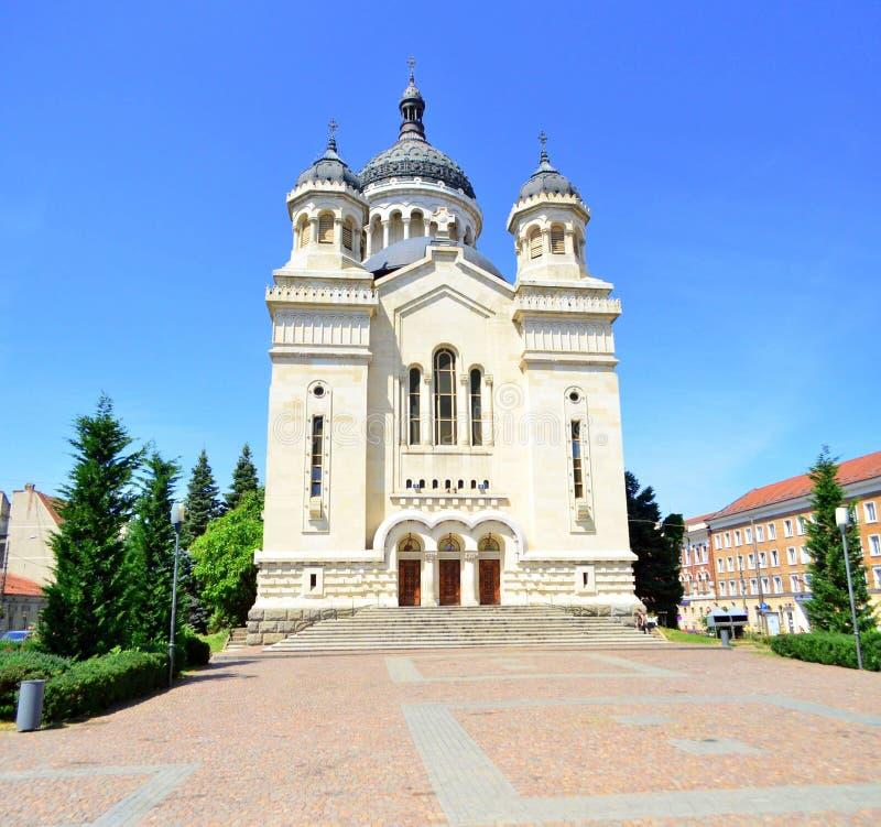 Ortodox storstads- domkyrka Cluj Napoca royaltyfria bilder