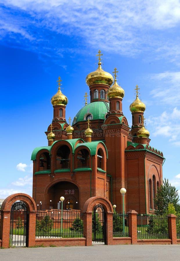 ortodoxt tempel arkivfoto