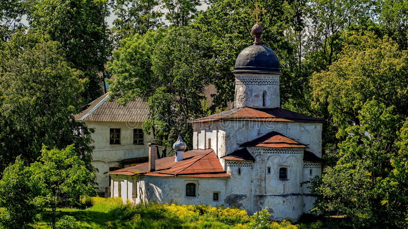 Ortodoxt tempel royaltyfri fotografi