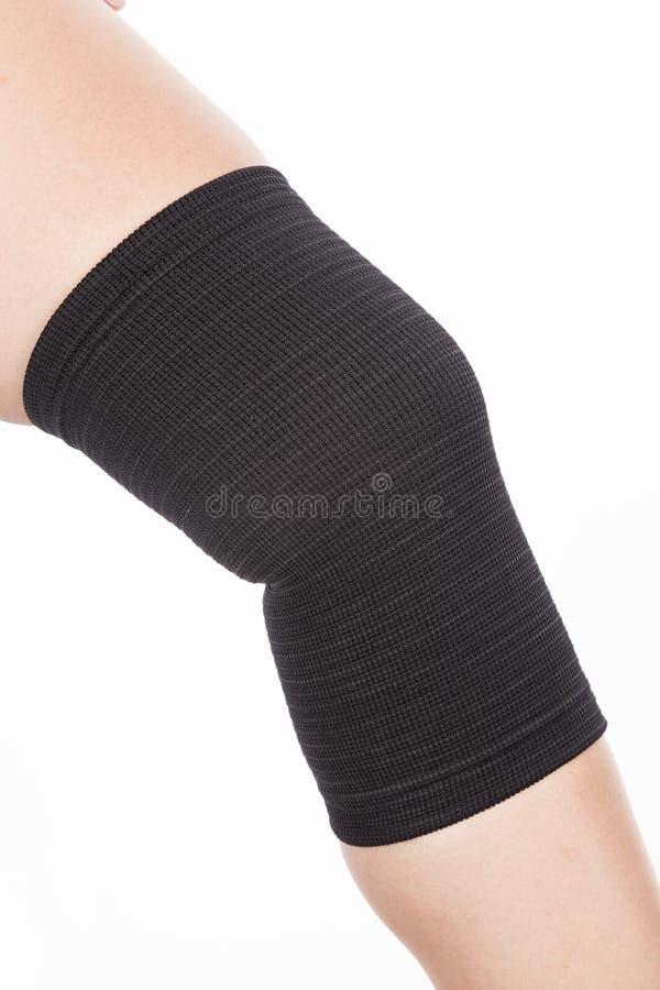 Ortopedyczny poparcie dla kolana zdjęcia royalty free