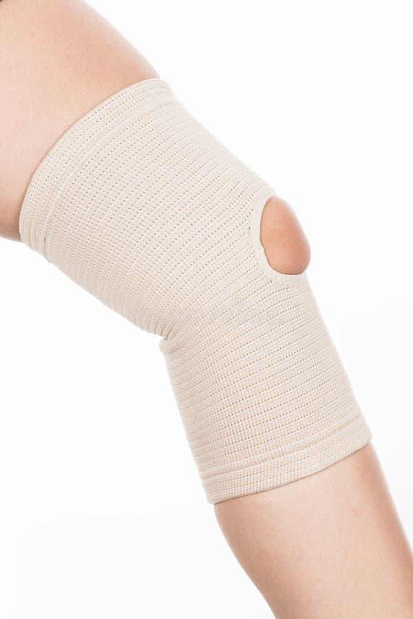 Ortopedyczny poparcie dla kolana fotografia royalty free