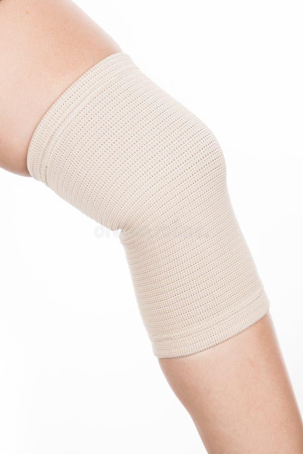 Ortopedyczny poparcie dla kolana obraz royalty free