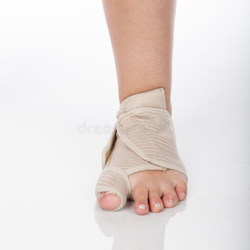 Ortopedyczny poparcie dla kostki zdjęcie royalty free