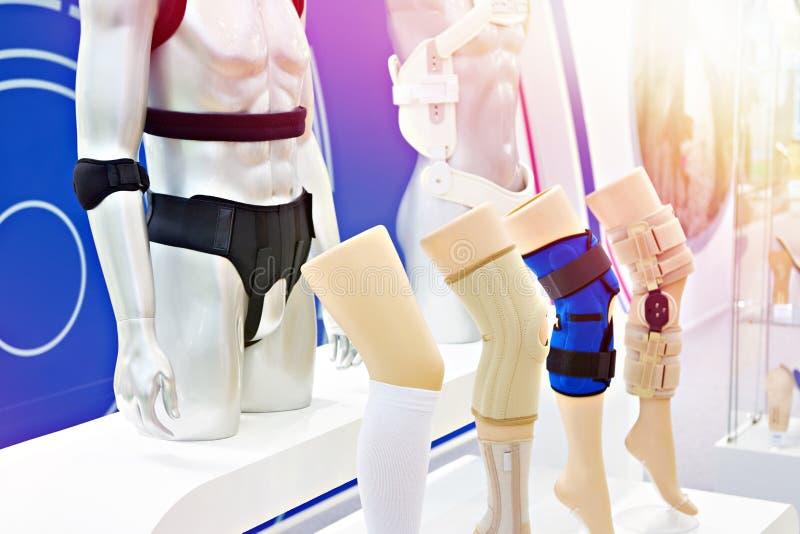 Ortopedyczny wystawa sklep obrazy stock