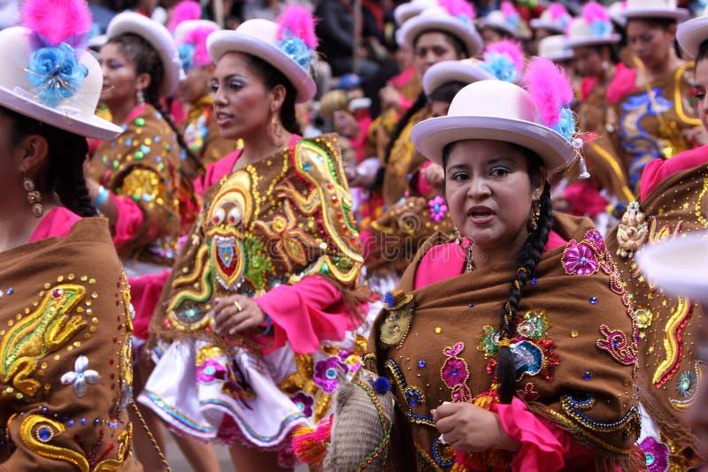 Oruro καρναβάλι στοκ φωτογραφία με δικαίωμα ελεύθερης χρήσης